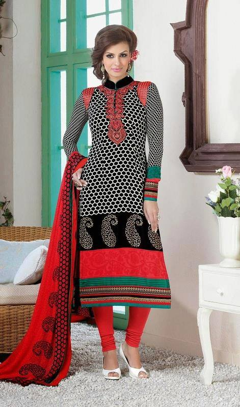 Latest Indian Designer Churidar Suits Salwar Kameez Collection 2015-2016 (31)
