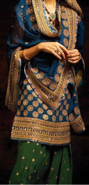 Latest Indian Patiala shalwar kameez fashion 2015-2016 (17)