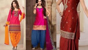 Latest Indian Patiala shalwar kameez fashion 2015-2016