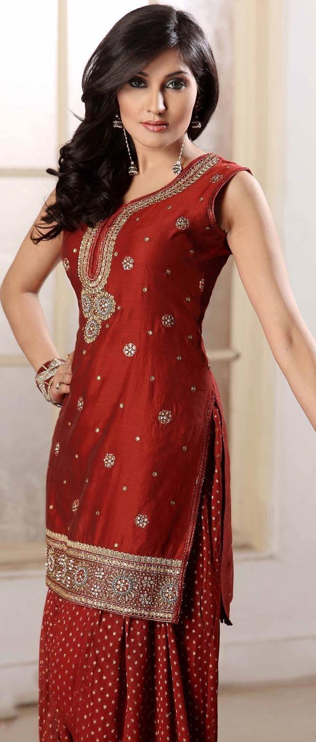 Latest Indian Patiala shalwar kameez fashion 2015-2016 (7)