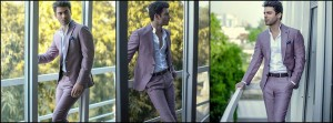 Latest Men Three Piece Suits Pen Coats Designs by Republic Summer Spring Collection 2015-2016
