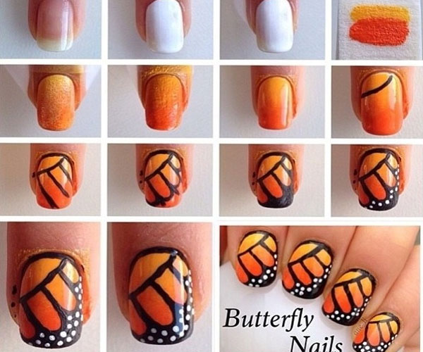 Stunning Step By Step Nail Art Designs At Home Images - Amazing ...