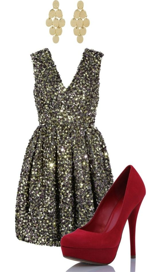 Christmas Cocktail Dresses & Gowns Collection 2015-2016 (2)