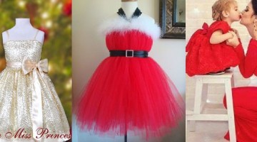 Christmas Dresses for Baby Girls Latest Collection 2015-2016