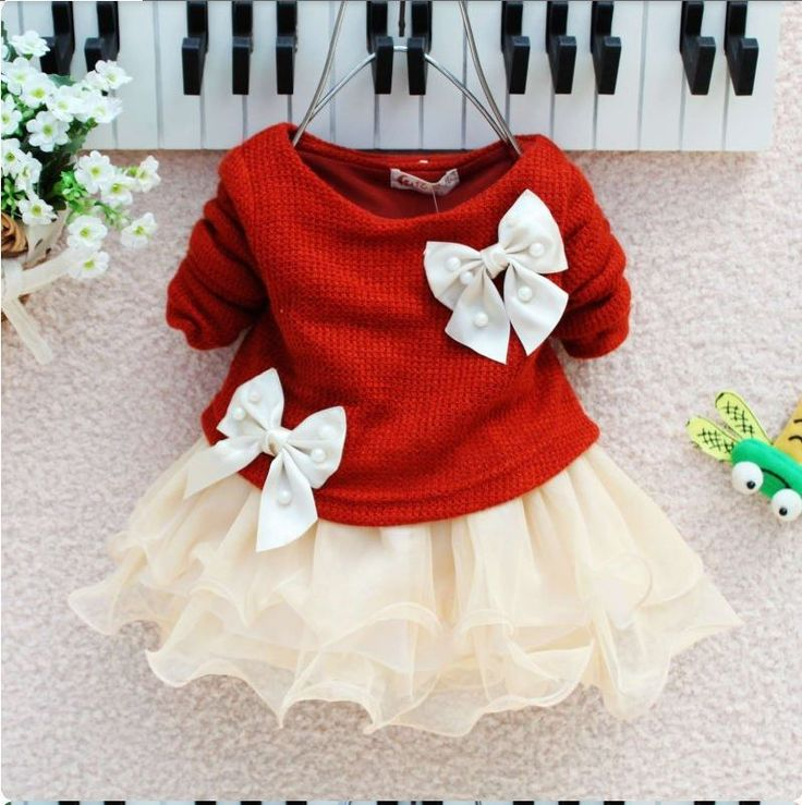 christmas dresses for baby girls latest collection 2015 2016 7 - 12 Month Christmas Dress