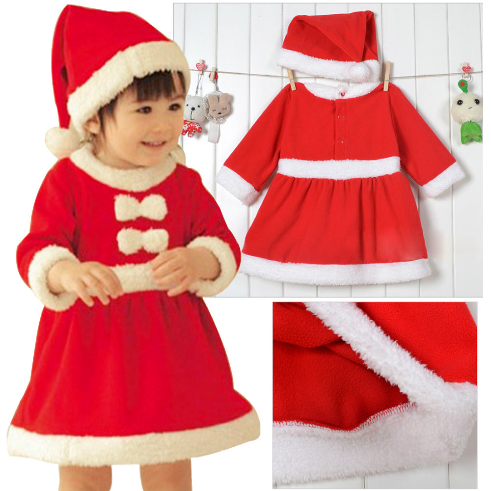 Christmas dresses for kids - Baby Girls Christmas Dresses Latest Designs Collection 2016 2017