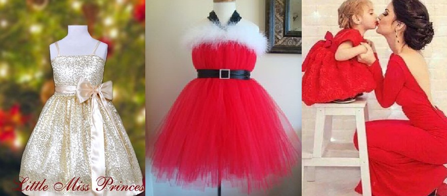 Baby Girls Christmas Dresses Latest Designs Collection 2016-2017