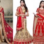 Latest Designer Indian Bridal Dresses 2017-2018 Collection
