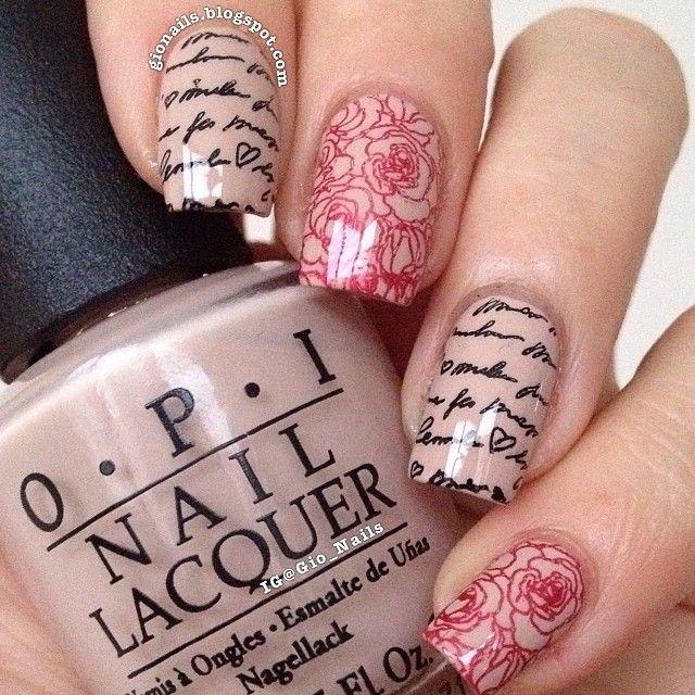 Newspaper nail arts (3) - Galstyles.com