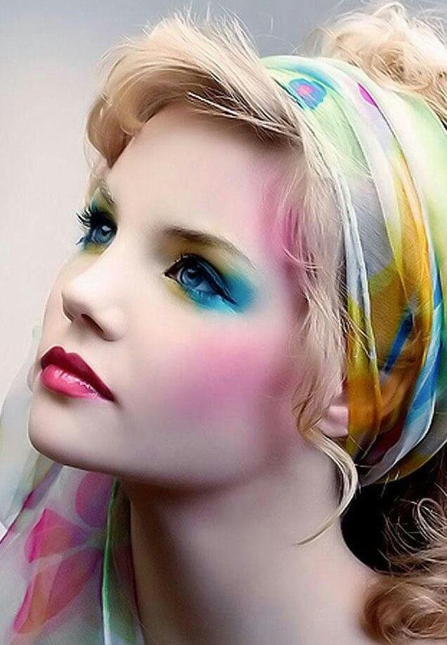 gorgeous pastel makeup looks (9)