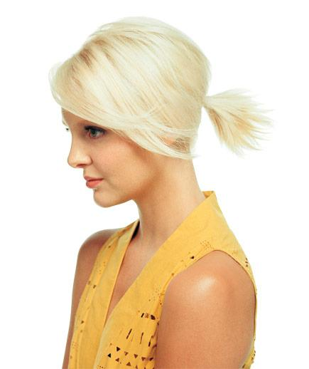 latest ponytail hairstyles for short hairs (9)