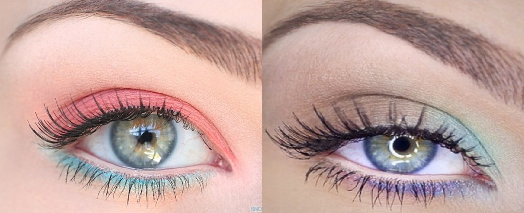 step by step pastel makeup for eyes (1)