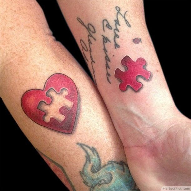 Cute Tattoo Design Ideas For Couples Matching with Meanings (1)
