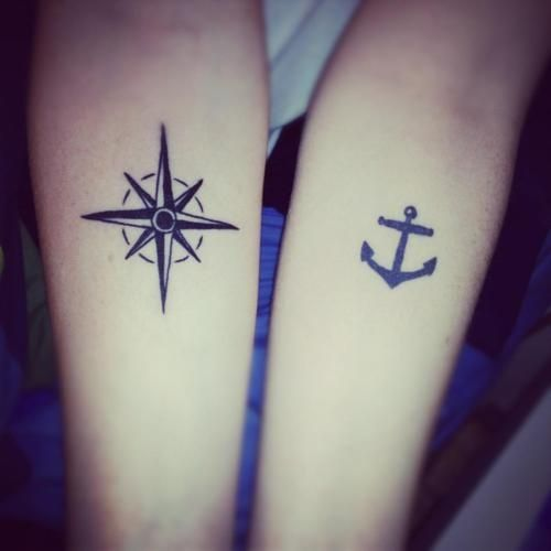 Cute Tattoo Design Ideas For Couples Matching with Meanings (16)