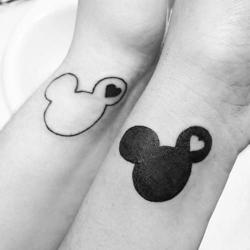 Cute Tattoo Design Ideas For Couples Matching with Meanings (6)