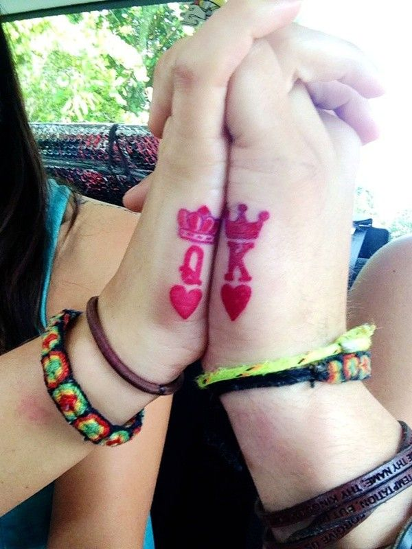Cute Tattoo Design Ideas For Couples Matching with Meanings (8)