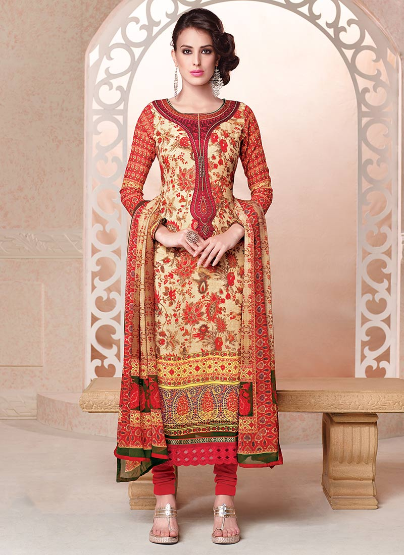 Indian Party Wears Salwar Kameez Collection 2015-2016 (10)