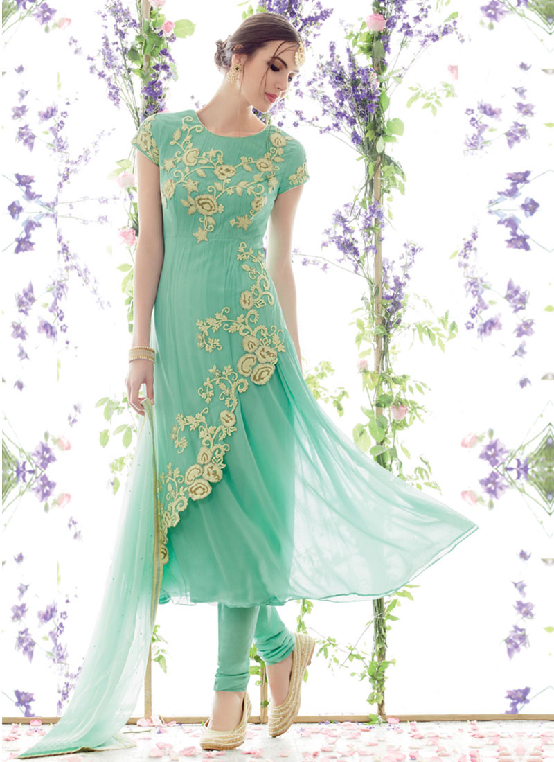 Indian Party Wears Salwar Kameez Collection 2015-2016 (13)