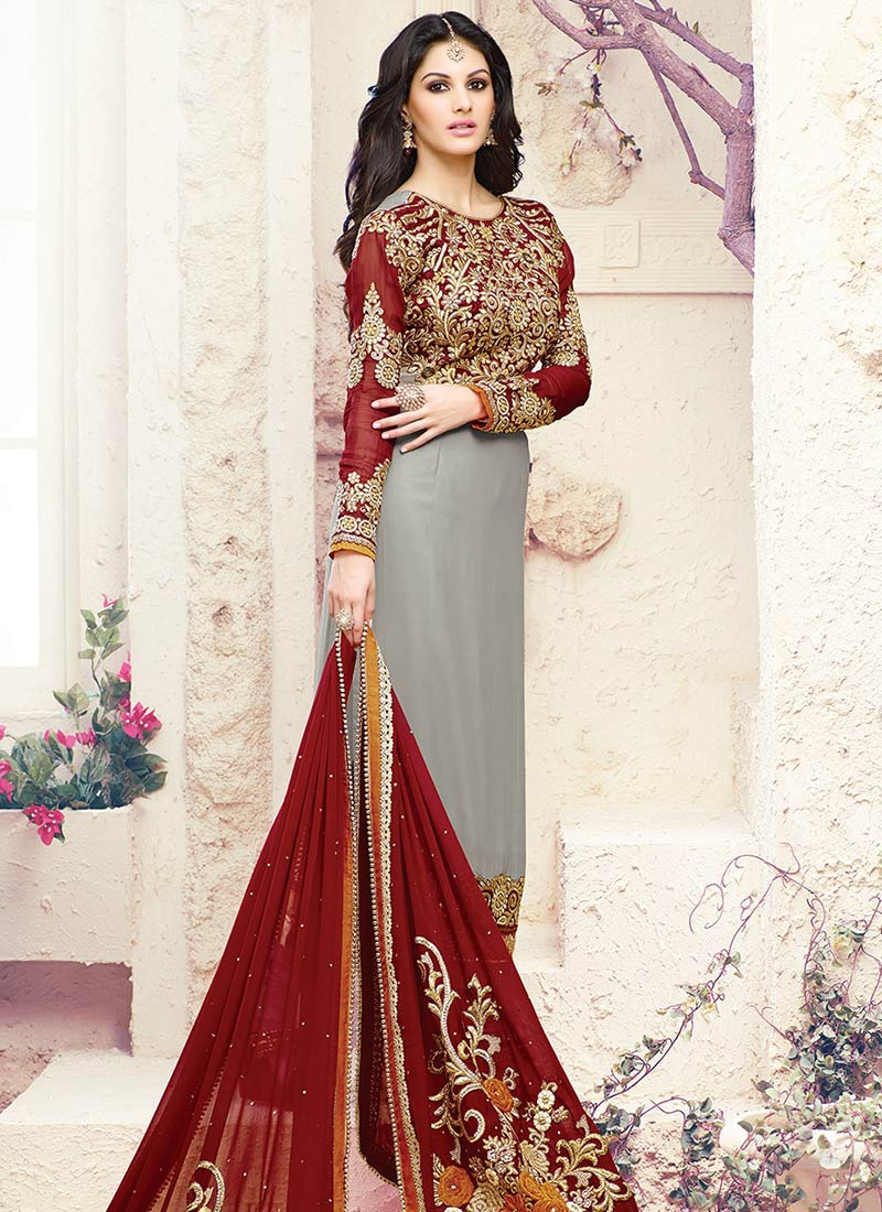 Indian Party Wears Salwar Kameez Collection 2015-2016 (14)