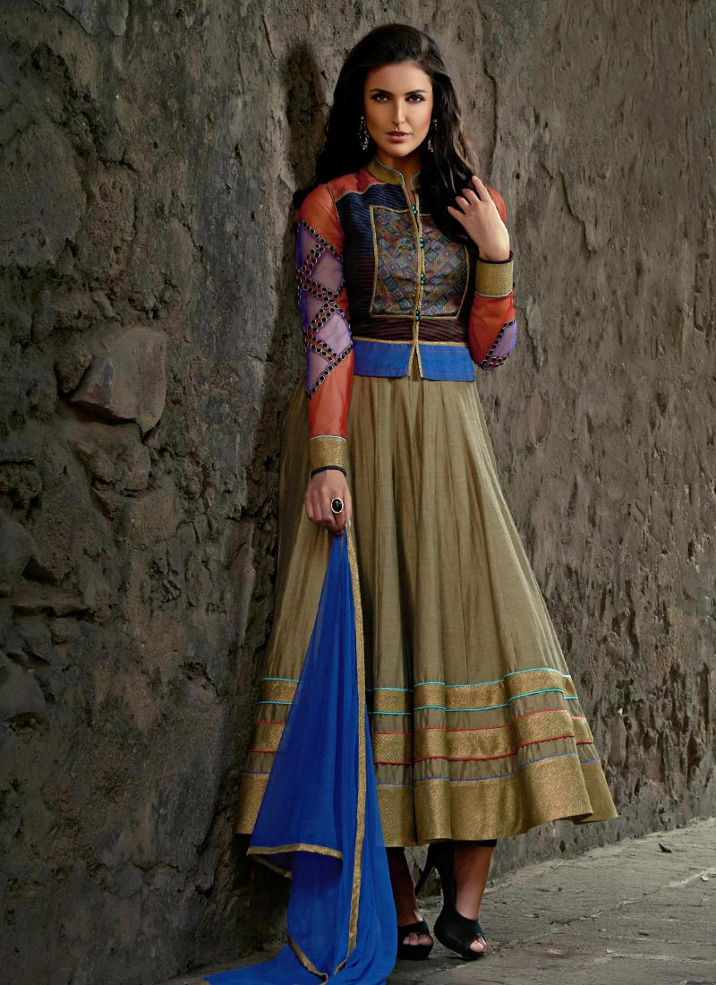 Indian Party Wears Salwar Kameez Collection 2015-2016 (15)