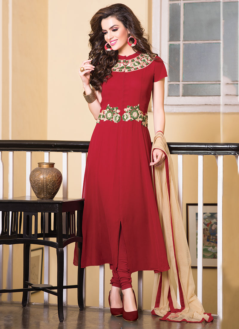 Indian Party Wears Salwar Kameez Collection 2015-2016 (16)