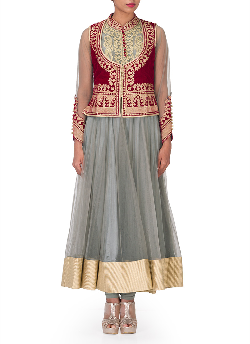 Indian Party Wears Salwar Kameez Collection 2015-2016 (18)