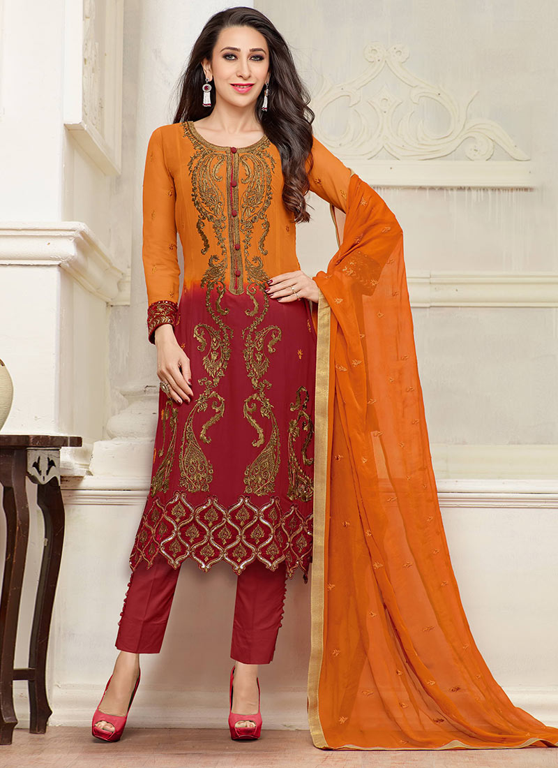 Indian Party Wears Salwar Kameez Collection 2015-2016 (2)