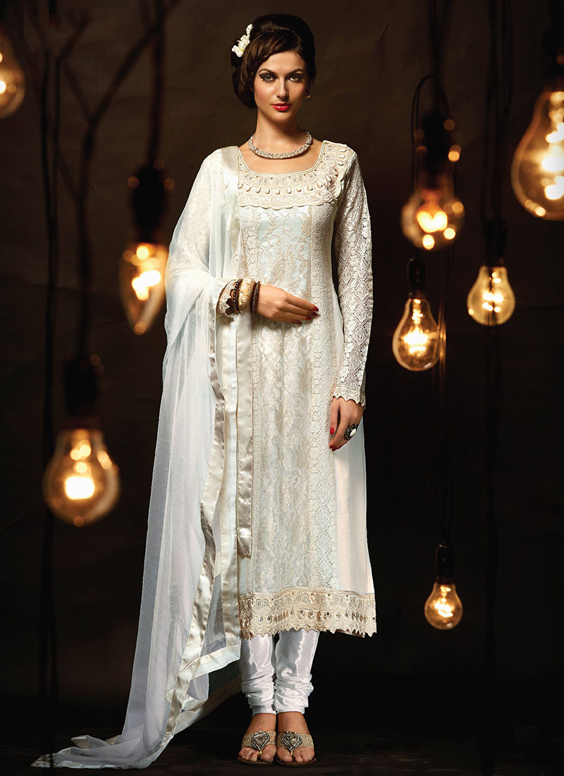 Indian Party Wears Salwar Kameez Collection 2015-2016 (22)