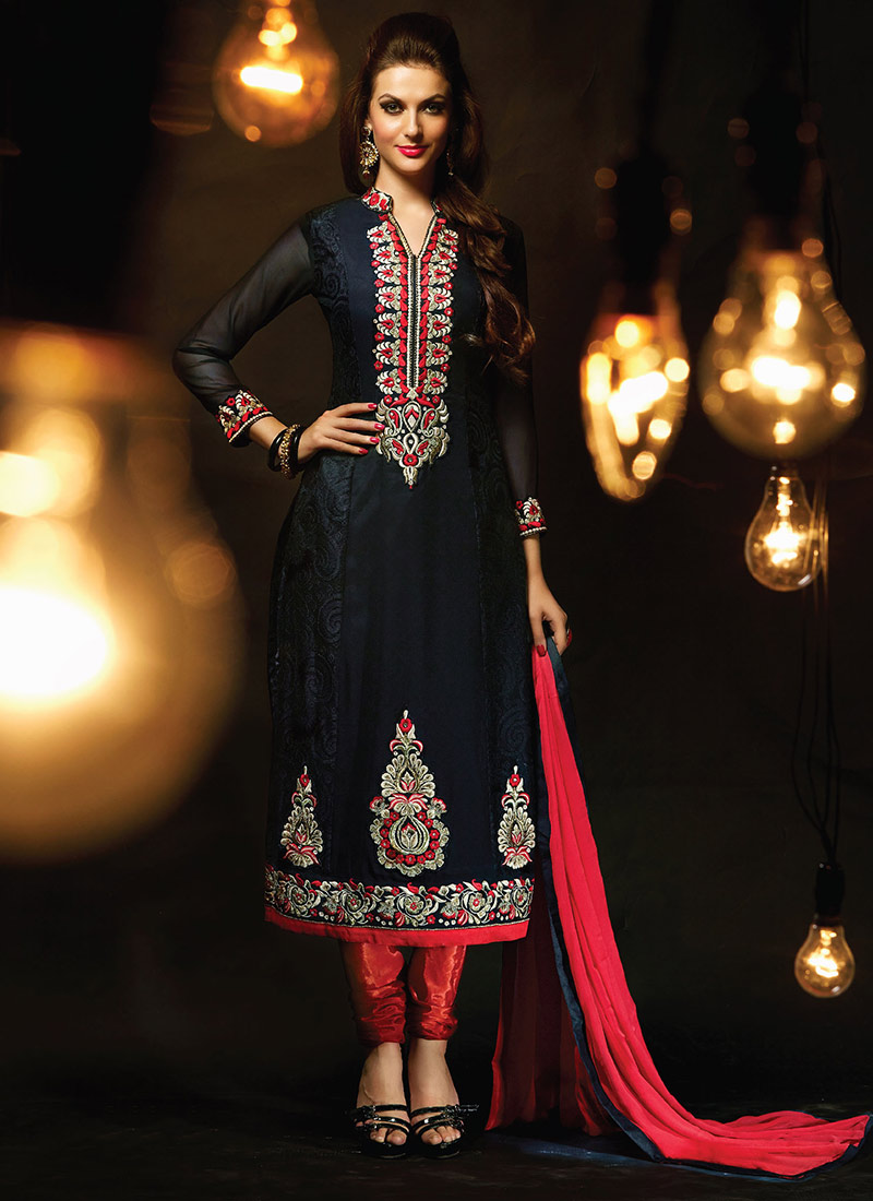 Indian Party Wears Salwar Kameez Collection 2015-2016 (31)