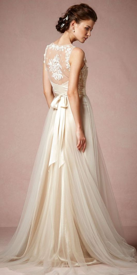 Latest Western Wedding Dresses & Gowns Collection 2015-2016 (12)