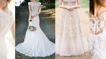 Latest Western Wedding Dresses & Gowns Collection 2015-2016