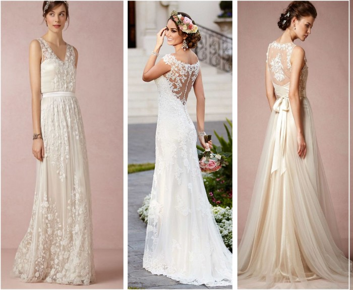 Latest Western Wedding Dresses & Gowns Collection 2015