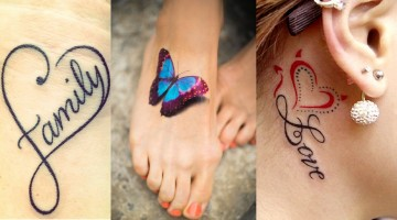 Latest women Body Art tattoo designs 2015-2016