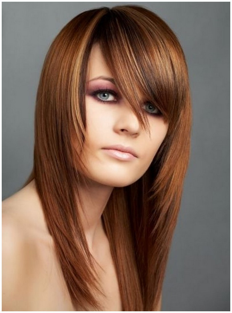 Simple long layered hairstyles (3)