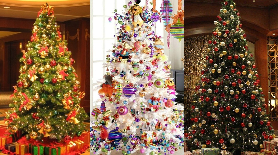 top ten christmas tree decorating ideas - Christmas Trees Decorated
