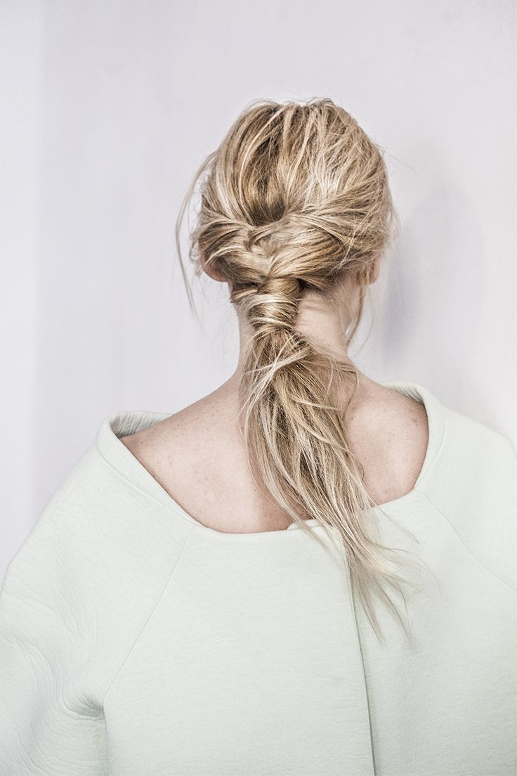 Twisted and fix hairstyles (3)