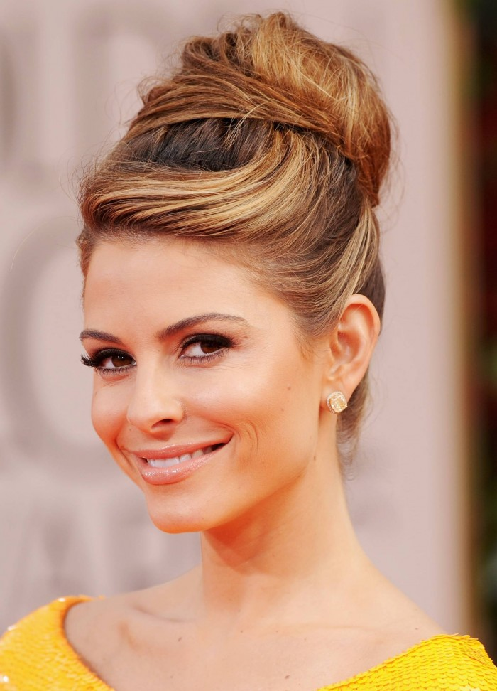 Updos Hairstyles for Winter