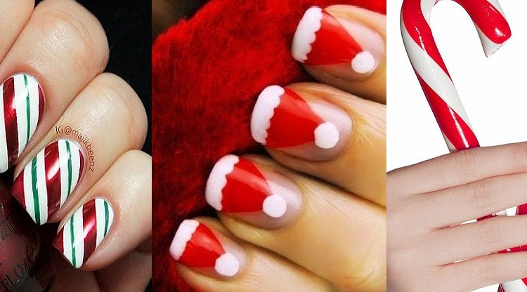 Christmas Ten Best Nail Art Designs Tutorials