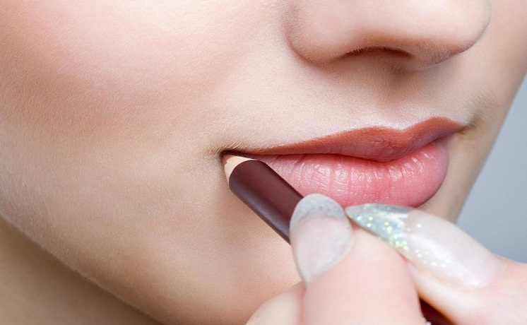 Pin It On Pinterest How To Apply Nude Lipstick Step