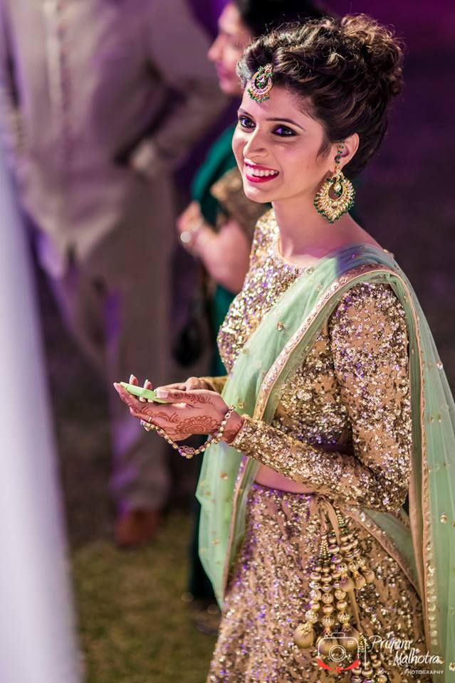 Peachy Indian Wedding Hairstyle Trends 2016 2017 For Bridals Short Hairstyles For Black Women Fulllsitofus