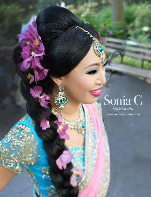 Marvelous Indian Wedding Hairstyle Trends 2016 2017 For Bridals Short Hairstyles Gunalazisus