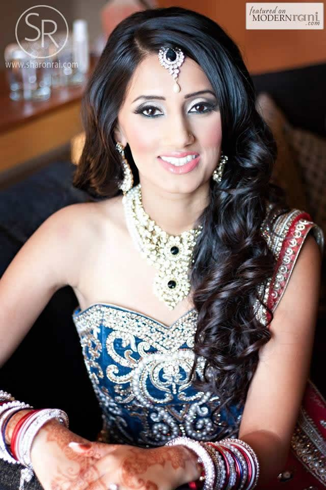 Astounding Indian Wedding Hairstyle Trends 2016 2017 For Bridals Hairstyles For Women Draintrainus