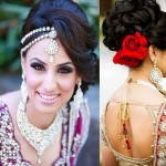 Indian Wedding Hairstyles Fashion Trends 2017-2018 for Bridals