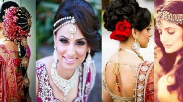 Indian Wedding Hairstyle Trends 2016-2017 for Bridals (4)