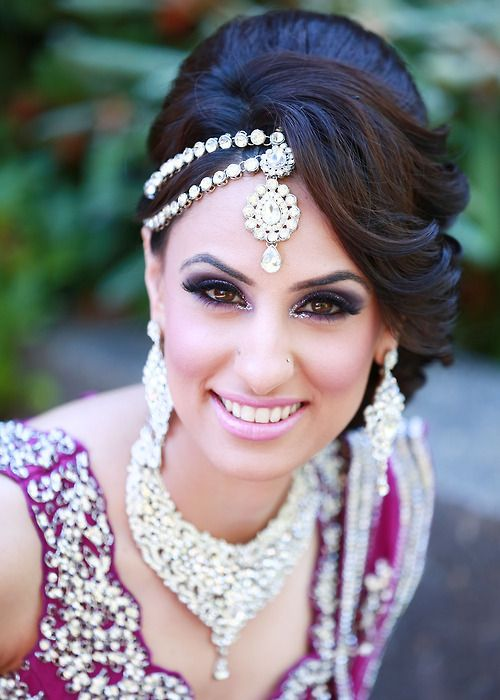 Awesome Indian Wedding Hairstyle Trends 2016 2017 For Bridals Hairstyles For Women Draintrainus