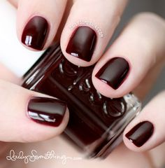 Top 10 Best Nail Colors for Winter Fall Season 2015-2016 (2)