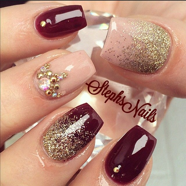Fall Color Nail Designs