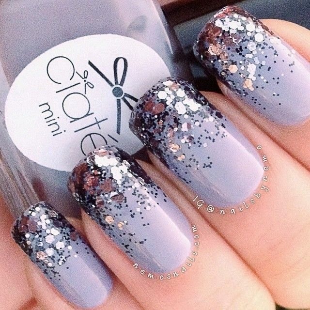 Top 10 Best Nail Colors for Winter Fall Season 2015-2016 (22) - Christmas Top Ten Best Nail Art Designs Tutorials 2018-2019
