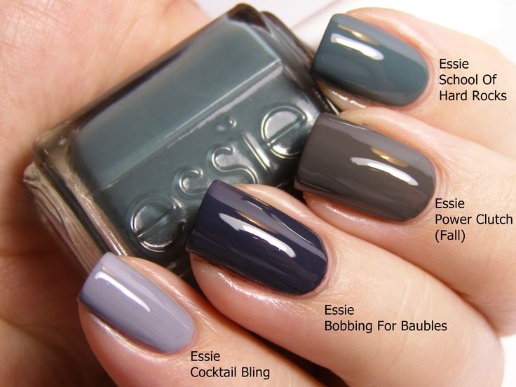 Best Fall Winter Nail Colors