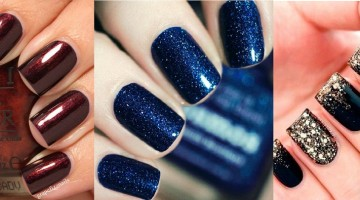Top 10 Best Nail Colors for Winter Fall Season 2015-2016